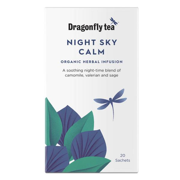 Night Sky Calm Infusion Tea Vegan, ORGANIC