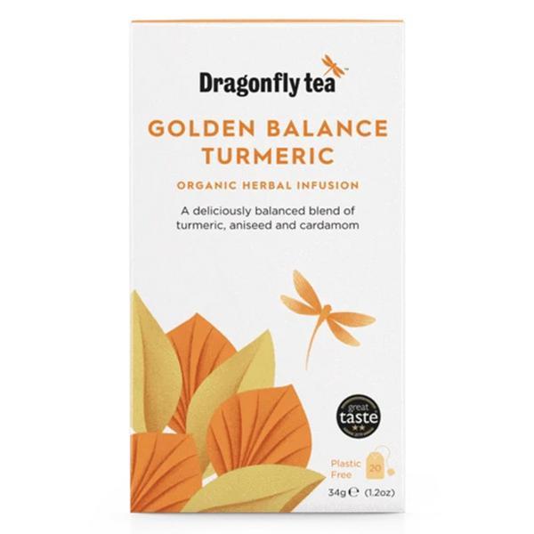 Golden Balance Detox Infusion Tea Vegan, ORGANIC