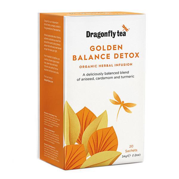 Golden Balance Detox Infusion Tea Vegan, ORGANIC image 2