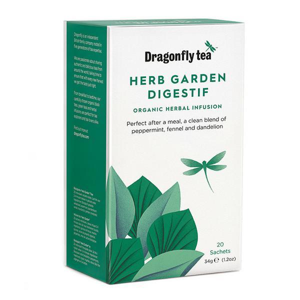 Herb Garden Digestif Infusion Tea Vegan, ORGANIC image 2