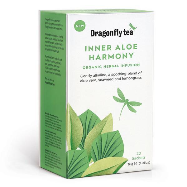 Inner Aloe Harmony Infusion Tea Vegan, ORGANIC image 2