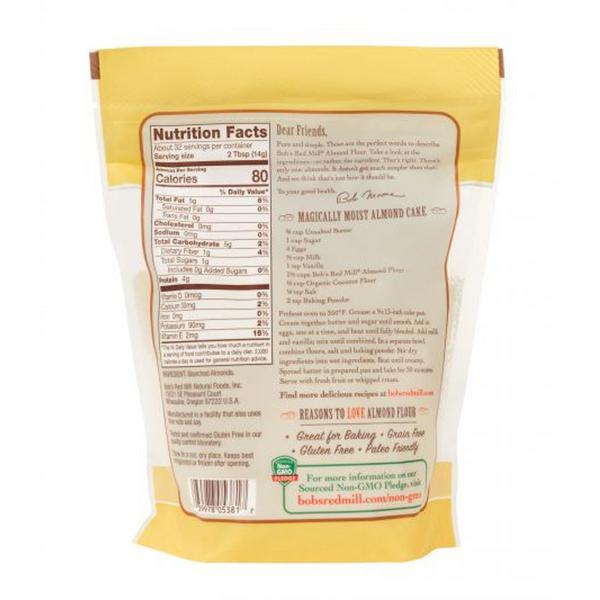 Blanched Almond Flour Gluten Free, Vegan image 2