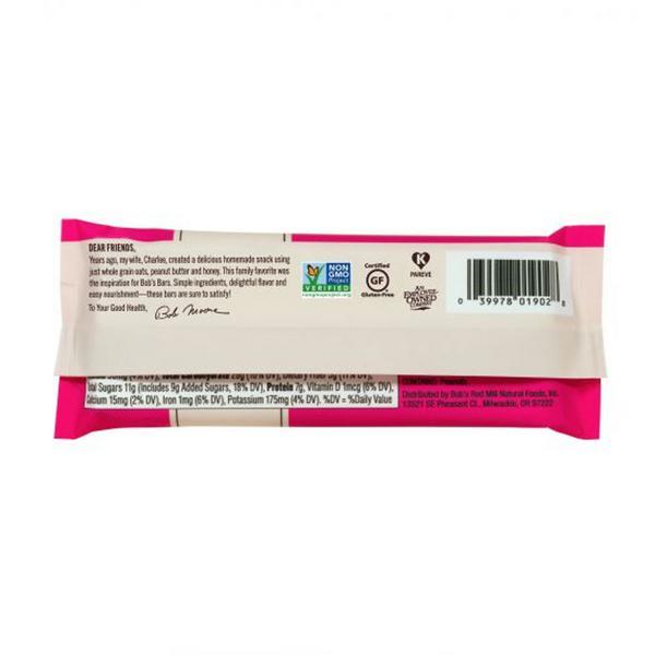 Peanut Butter & Jelly Oat Snackbar dairy free, Gluten Free image 2