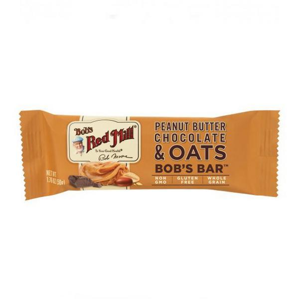 Peanut Butter & Chocolate Oat Snackbar Gluten Free