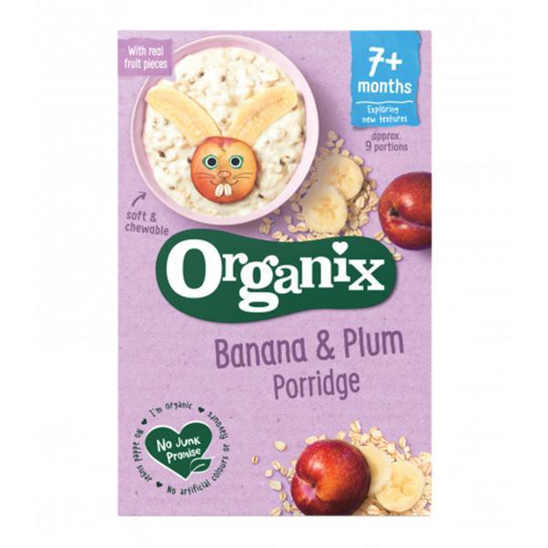 Banana & Plum Porridge Goodies Vegan, ORGANIC