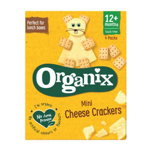 Mini Cheese Crackers Goodies ORGANIC