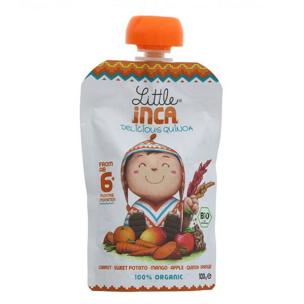 Carrot,Sweet Potato,Mango,Apple & Orange Quinoa Vegan, ORGANIC