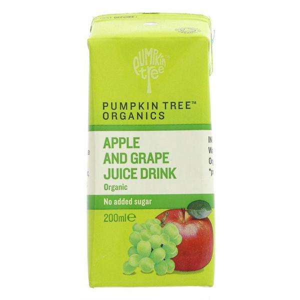 Apple & Grape Juice Drink Vegan, ORGANIC