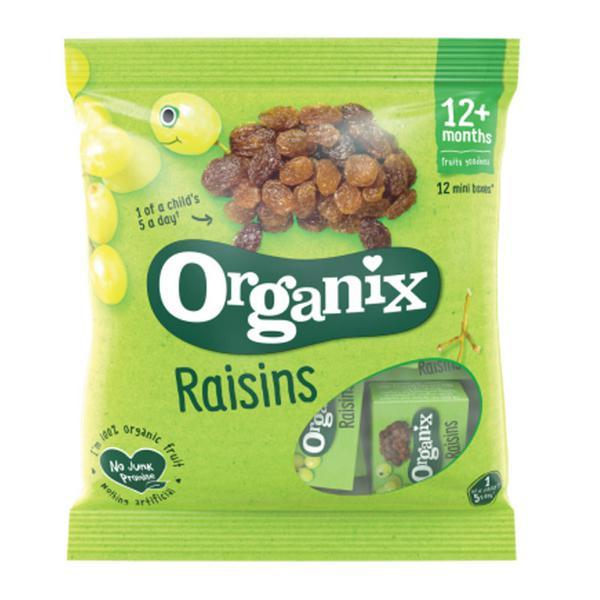 Mini Raisins Boxes Goodies Vegan, ORGANIC