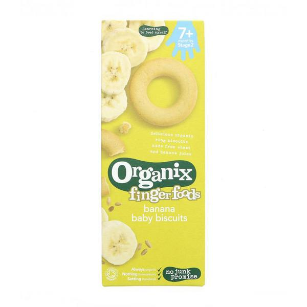 Banana Ring Baby Biscuits Vegan, ORGANIC