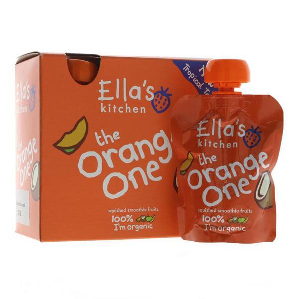 The Orange One Fruit Smoothie Multipack dairy free, Vegan, ORGANIC