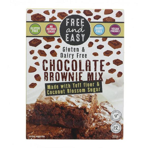 Chocolate Brownie Mix Gluten Free, Vegan