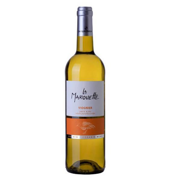 Viognier La Marouette White Wine IGP Pays d'Oc Vegan, ORGANIC
