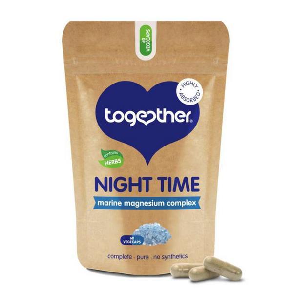 OceanPure Night Time Magnesium Complex Gluten Free, Vegan