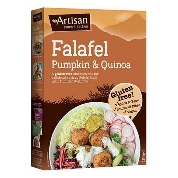 Pumpkin & Quinoa Falafel Mix Gluten Free, Vegan