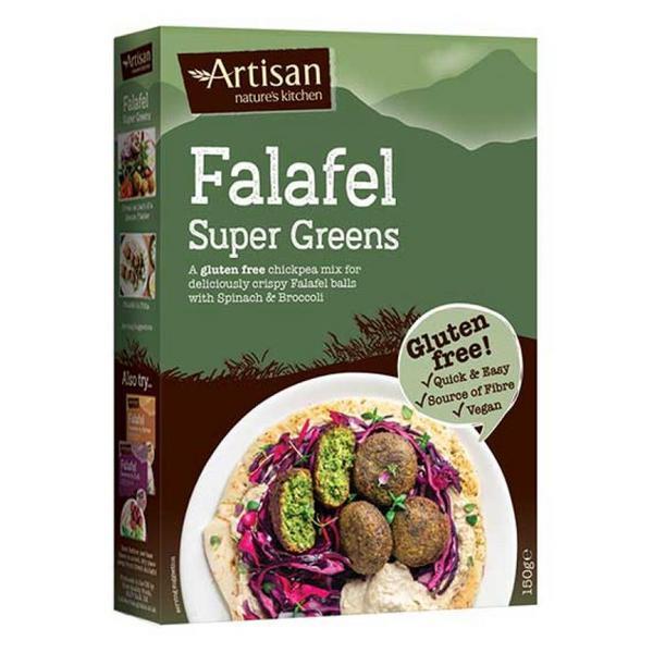 Supergreens Falafel Mix Gluten Free, Vegan