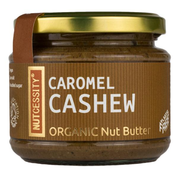 Caromel Cashew Nut Butter dairy free, no sugar added, Vegan, ORGANIC
