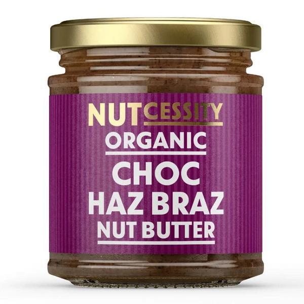 Chocolate Haz Braz dairy free, no added sugar, Vegan, ORGANIC