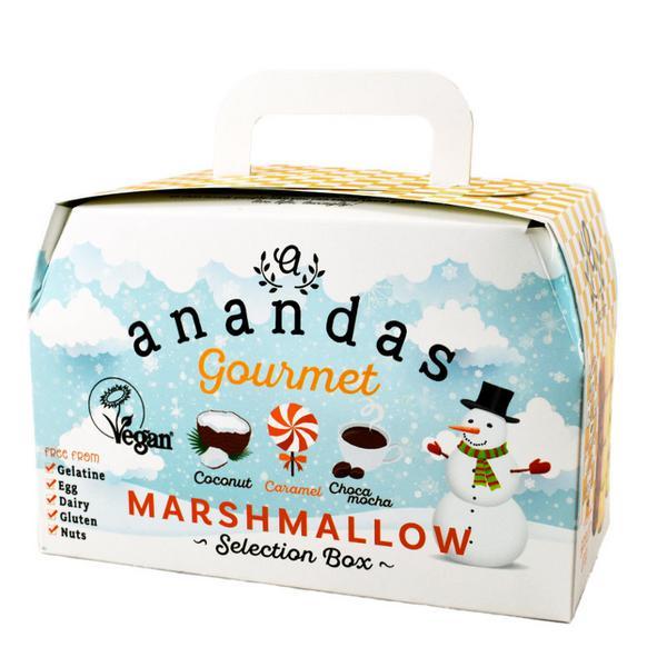 Marshmallows Coconut,Caramel & Choca Mocha Gift Box Gluten Free, Vegan
