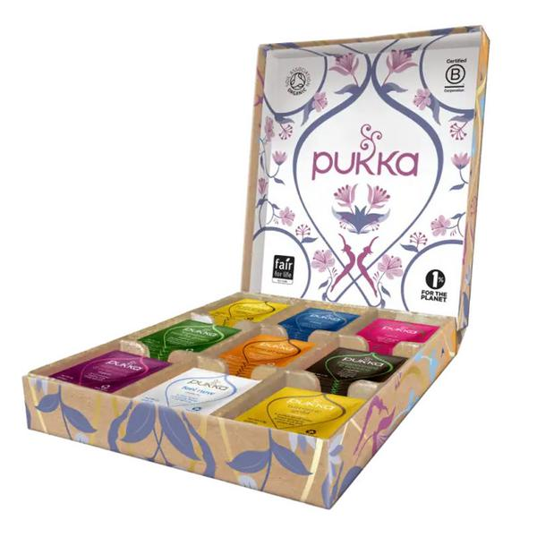 tea selection box GMO free, ORGANIC