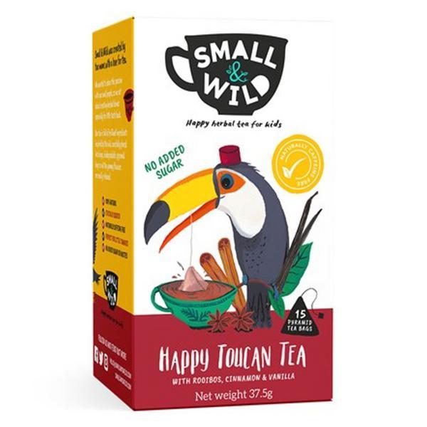 Happy Toucan Tea For Kids Rooibos,Cinnamon & Vanilla