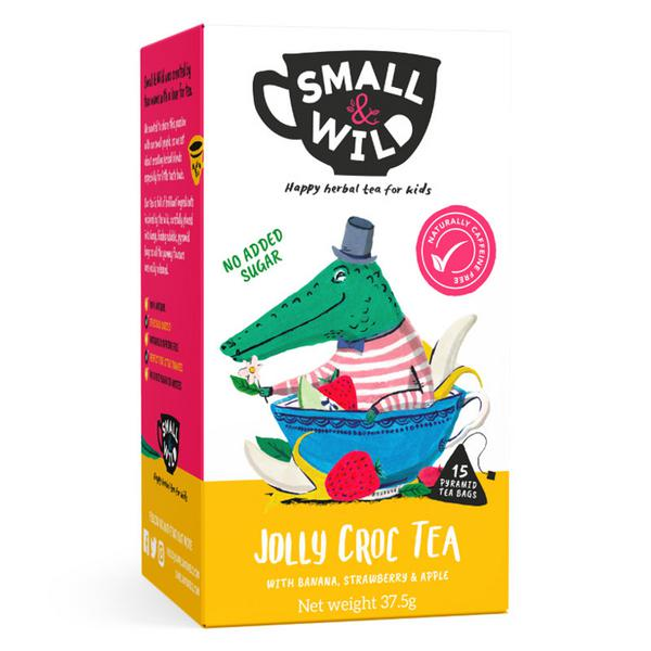 Jolly Croc Fruit Tea For Kids Banana,Strawberry & Apple