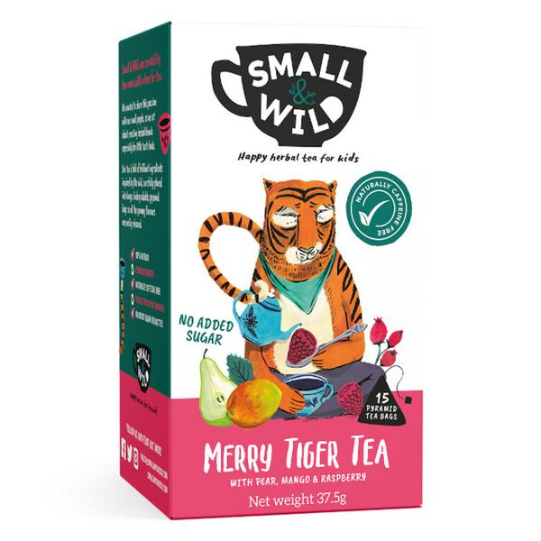 Merry Tiger Fruit Tea Pear,Mango & Raspberry