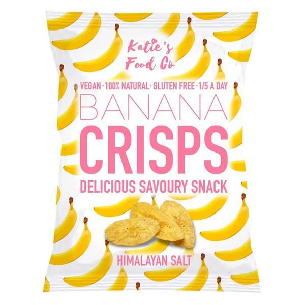 Himalaya Salt Savoury Banana Crisps Gluten Free, Vegan