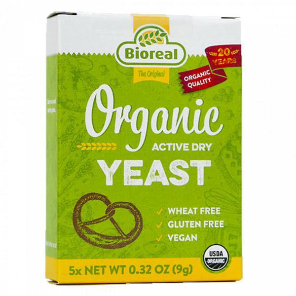 Active Dry Yeast Gluten Free, Vegan, ORGANIC