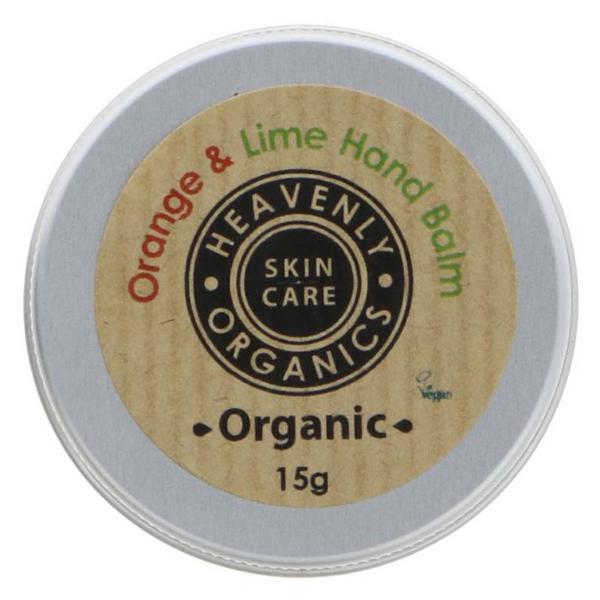 Orange & Lime Hand Balm Vegan, ORGANIC