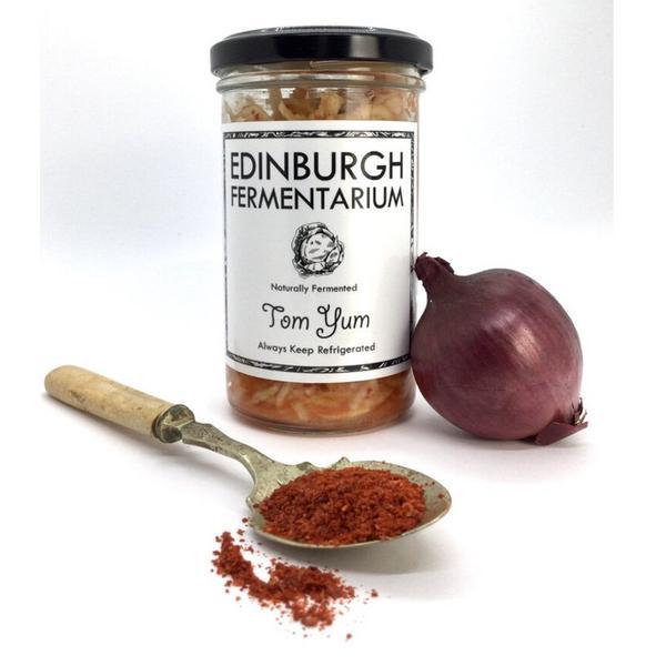 Sauerkraut Tom Yum Vegan