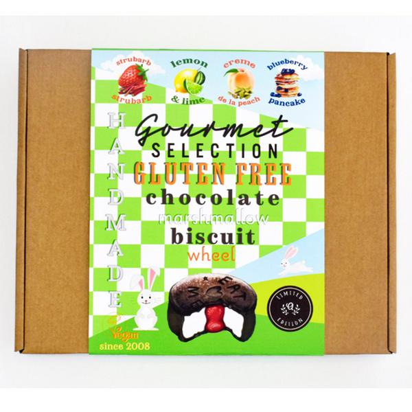 Chocolate Biscuits Round Up Luxury Selection dairy free, Vegan