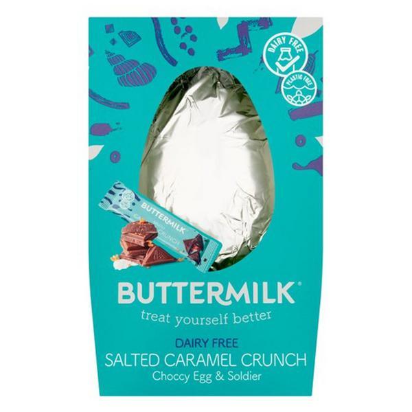Salted Caramel Crunch Easter Egg Vegan