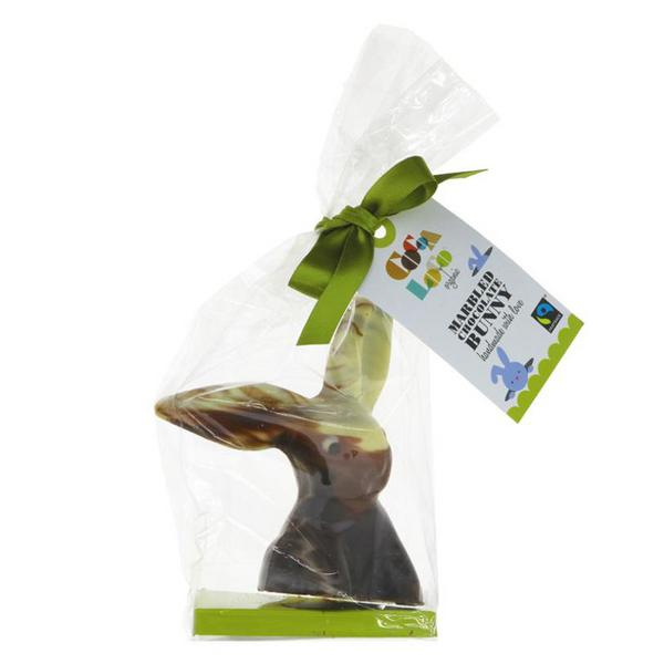 Marbled Easter Bunny FairTrade, ORGANIC