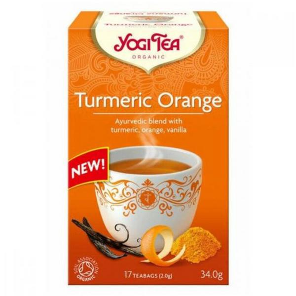 Turmeric & Orange Tea Vegan, ORGANIC