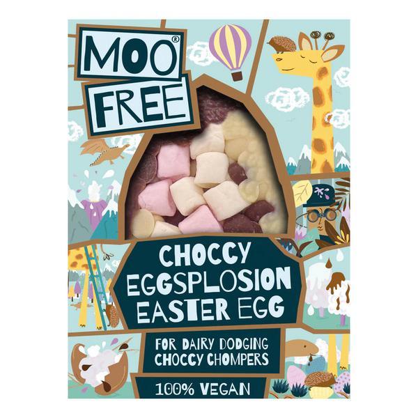 Choccy Eggsplosion Easter Egg Gluten Free, Vegan