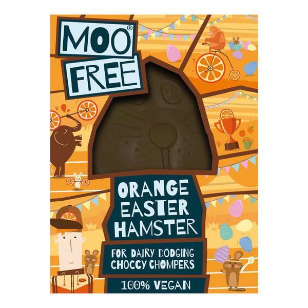 Hammy Hamster Orange Chocolate Easter Egg Gluten Free, Vegan