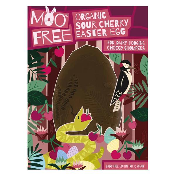 Sour Cherry Easter Egg Gluten Free, Vegan, ORGANIC