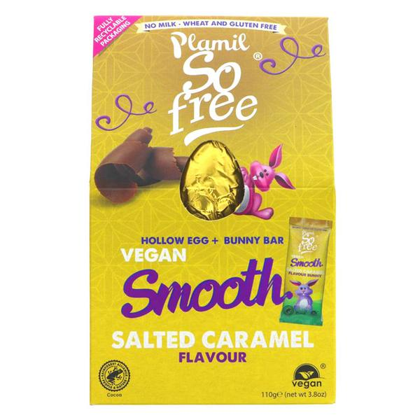 Smooth Salted Caramel Easter Egg Gluten Free, Vegan