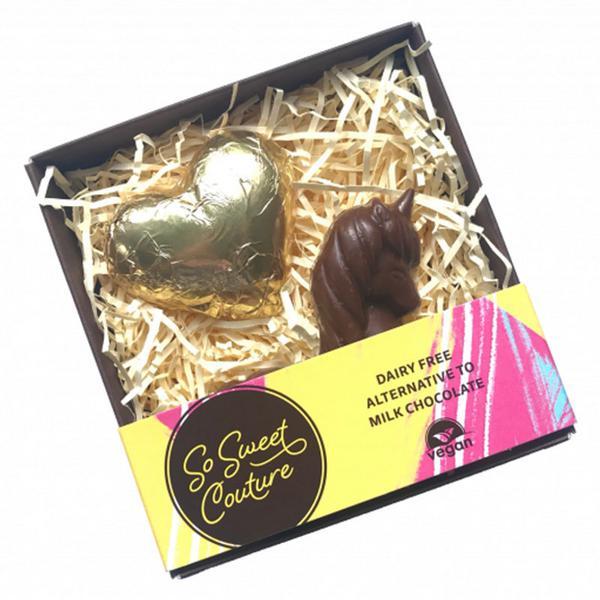Unicorn & Heart Chocolate Vegan