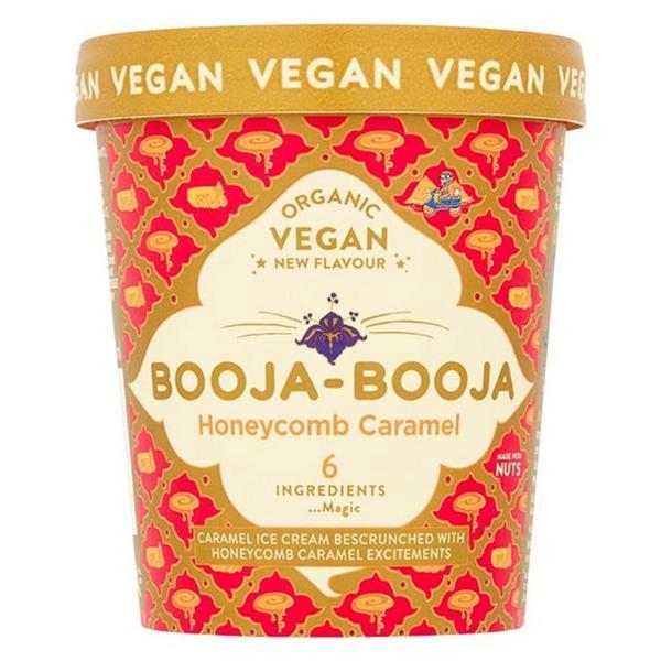 Honeycomb & Caramel Ice Cream Vegan