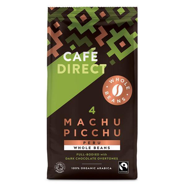 Coffee Beans Strength 4 Machu Picchu Vegan, ORGANIC