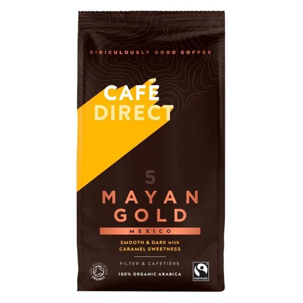 Mayan Gold Ground Coffee Vegan, ORGANIC
