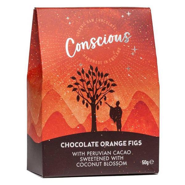 Chocolate Orange Coated Figs