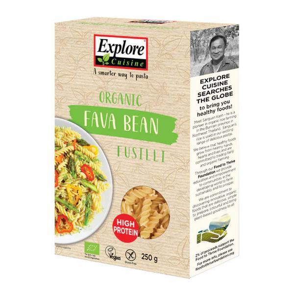 Fava Bean Fusilli Gluten Free, Vegan, ORGANIC