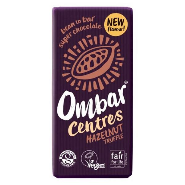 Raw Chocolate Hazelnut Truffle Centre Gluten Free, Vegan, ORGANIC