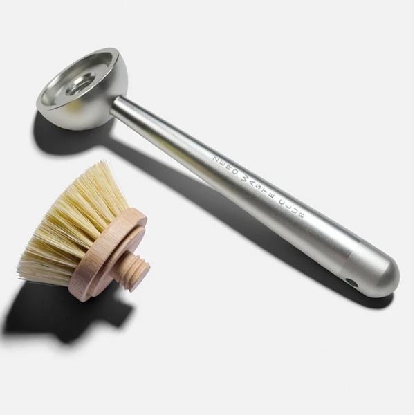 Aluminium Replaceable Head Dish Brush