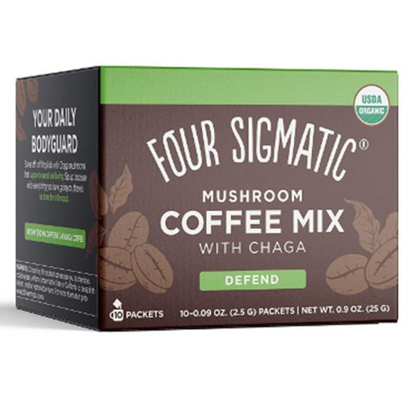 Mushroom Coffee With Chaga & Cordyceps Vegan, ORGANIC