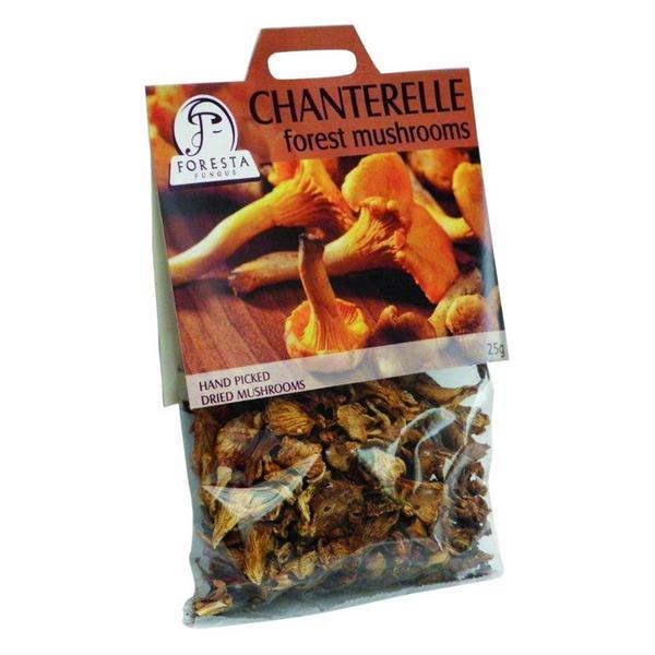 Mushrooms Chanterelle Vegan, ORGANIC