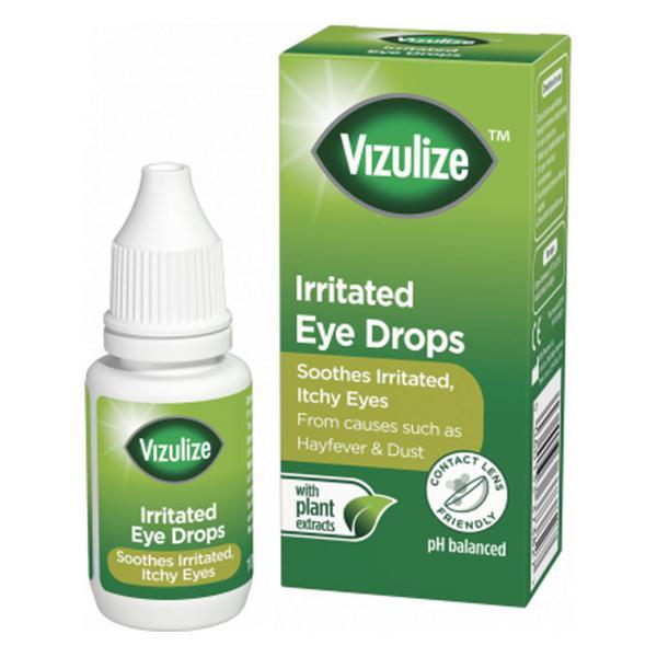 Irritated Eye Drops